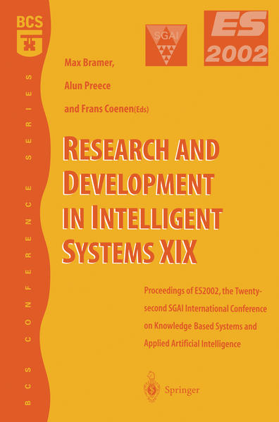 Research and Development in Intelligent Systems XIX - Coverbild