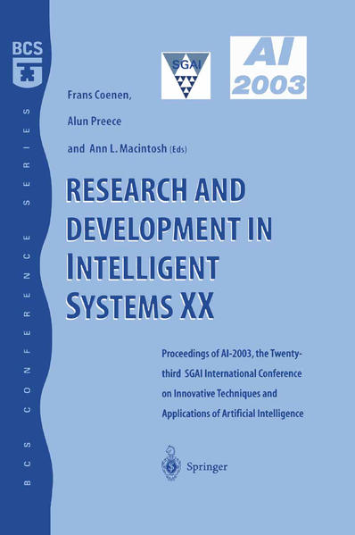 Research and Development in Intelligent Systems XX - Coverbild