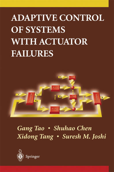 Adaptive Control of Systems with Actuator Failures - Coverbild