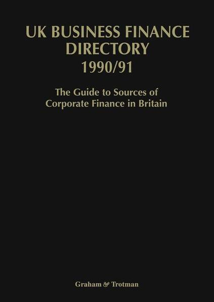 UK Business Finance Directory 1990/91 - Coverbild