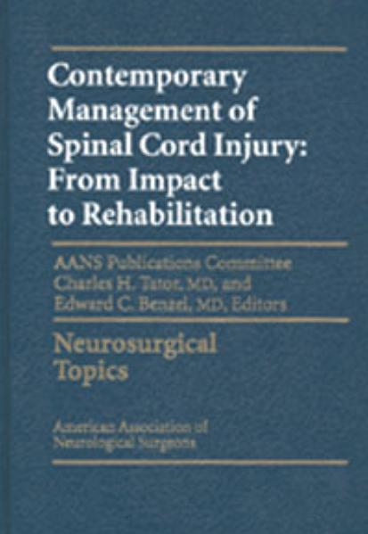 Contemporary Management of Spinal Cord Injury - Coverbild