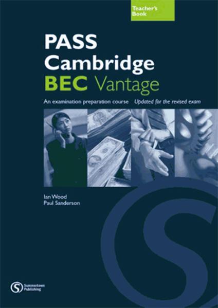 PASS Cambridge BEC, Vantage (B2) - Coverbild