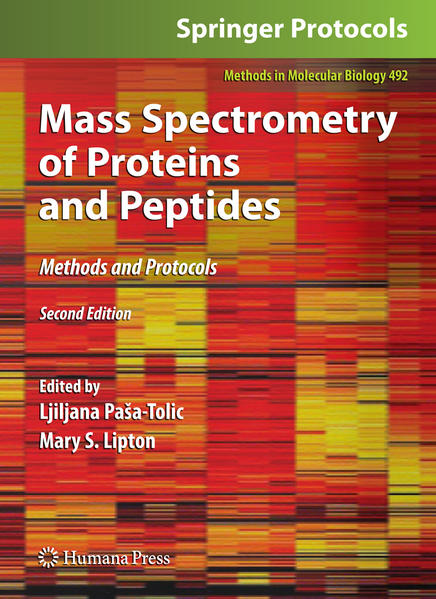 Mass Spectrometry of Proteins and Peptides - Coverbild