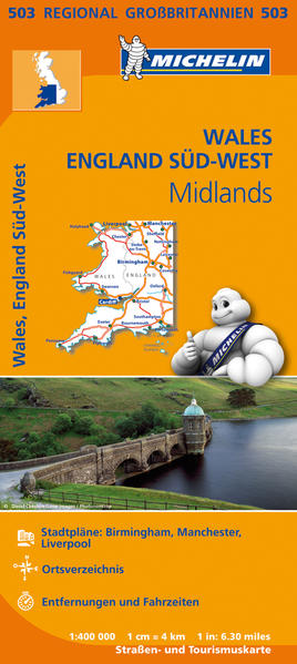 Michelin Wales, England Süd-West, Midlands Epub Ebooks Herunterladen