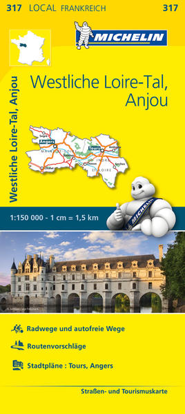 Michelin Westliches Loiretal - Anjou - Coverbild