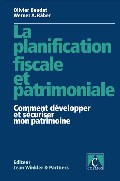 La Planification fiscale et patrimoniale - Coverbild