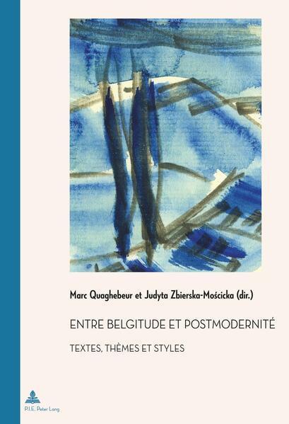 Entre belgitude et postmodernité - Coverbild