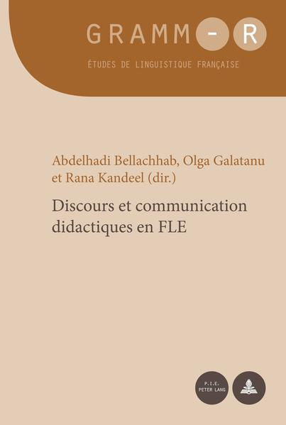Discours et communication didactiques en FLE - Coverbild