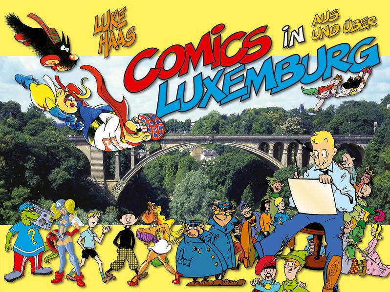 Comics in, aus und über Luxemburg - Coverbild