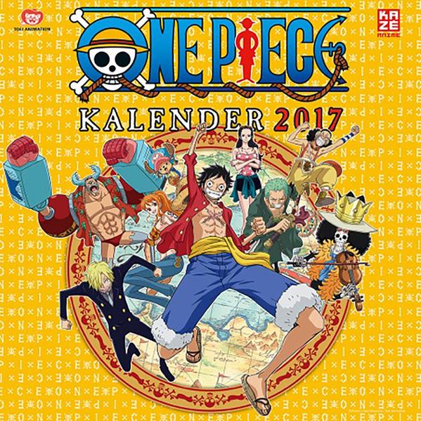 One Piece - Wandkalender 2017 - Coverbild