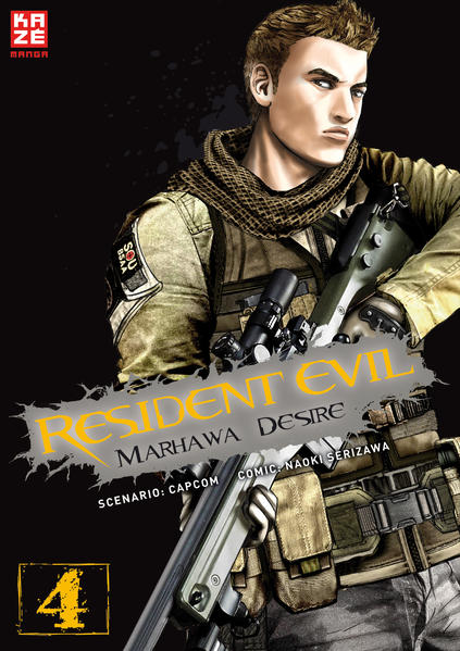 Resident Evil – Marhawa Desire 04 - Coverbild