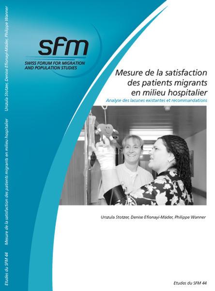 Mesure de la satisfaction des patients migrants en milieu hospitalier - Coverbild