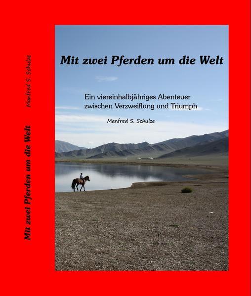 Mit zwei Pferden um die Welt - Coverbild