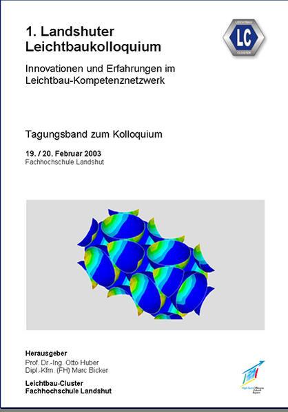 1. Landshuter Leichtbaukolloquium (2003) - Coverbild