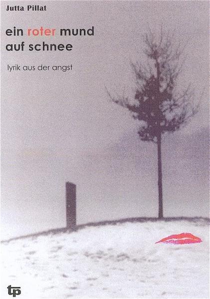 Ein roter Mund auf Schnee - Coverbild