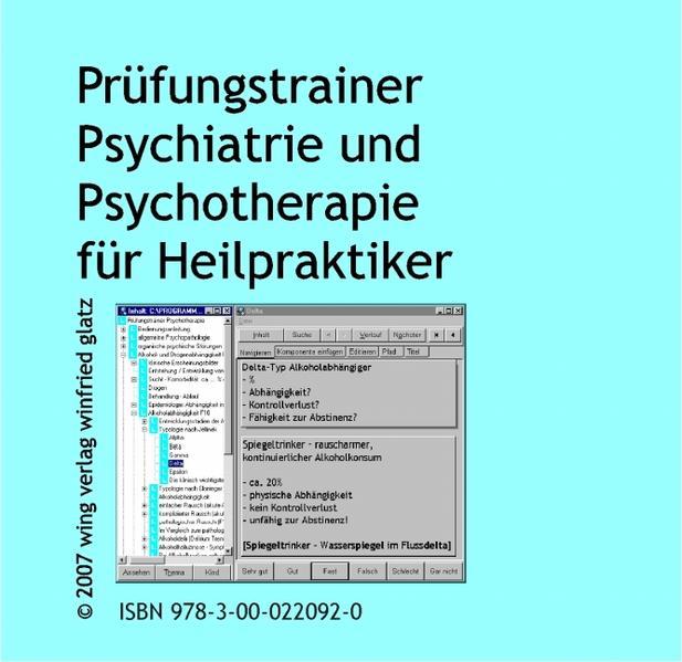 Prüfungstrainer Psychiatrie und Psychotherapie für Heilpraktiker - Coverbild