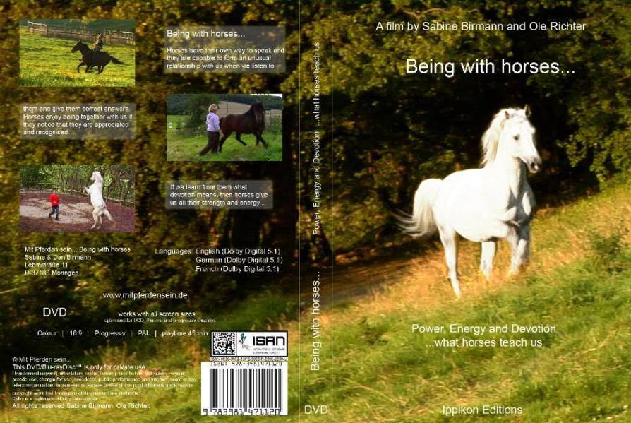 Mit Pferden sein... - Coverbild