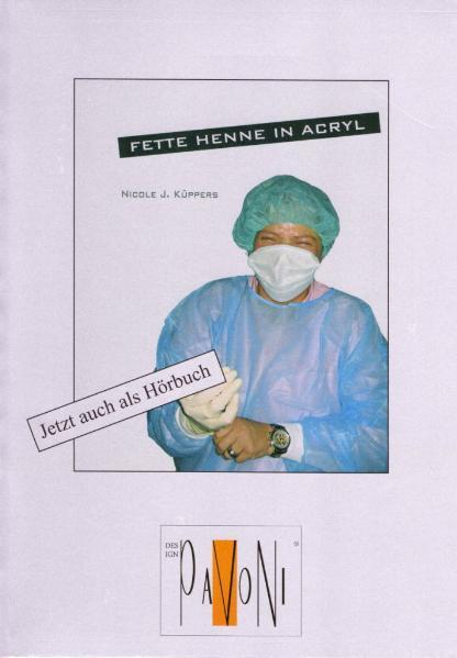 Fette Henne in Acryl - Coverbild