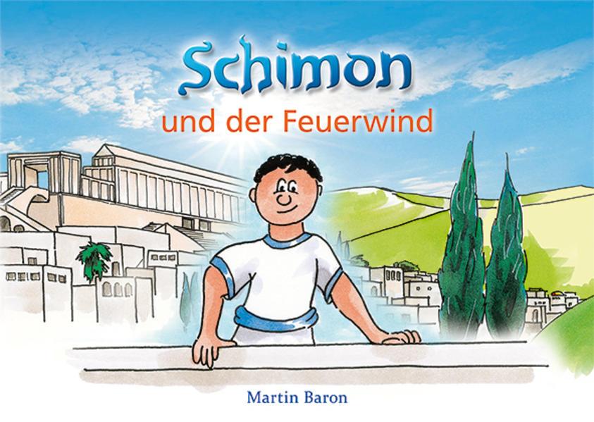 Schimon und der Feuerwind - Coverbild
