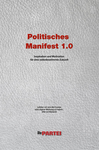Politisches Manifest 1.0 der Realpolitischen Plattform von