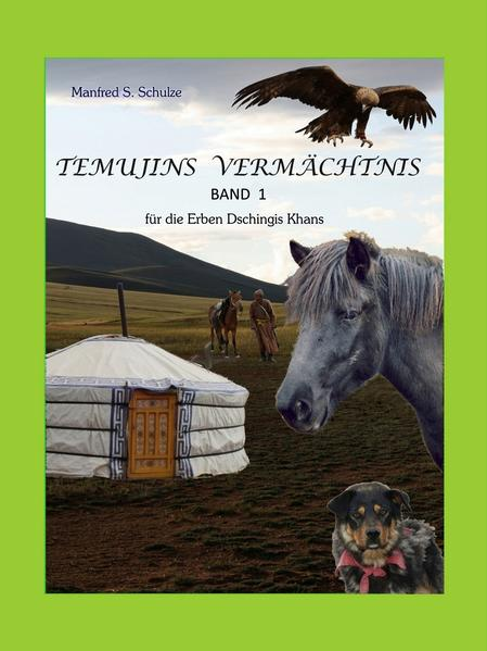 Temujins Vermächtnis Band 1 - Coverbild