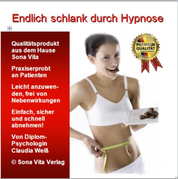 Endlich schlank durch Hypnose - Coverbild