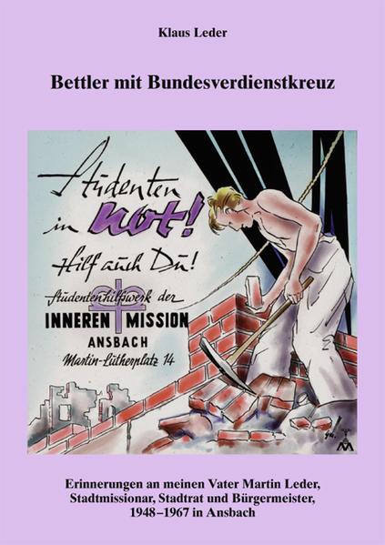 Bettler mit Bundesverdienstkreuz - Coverbild