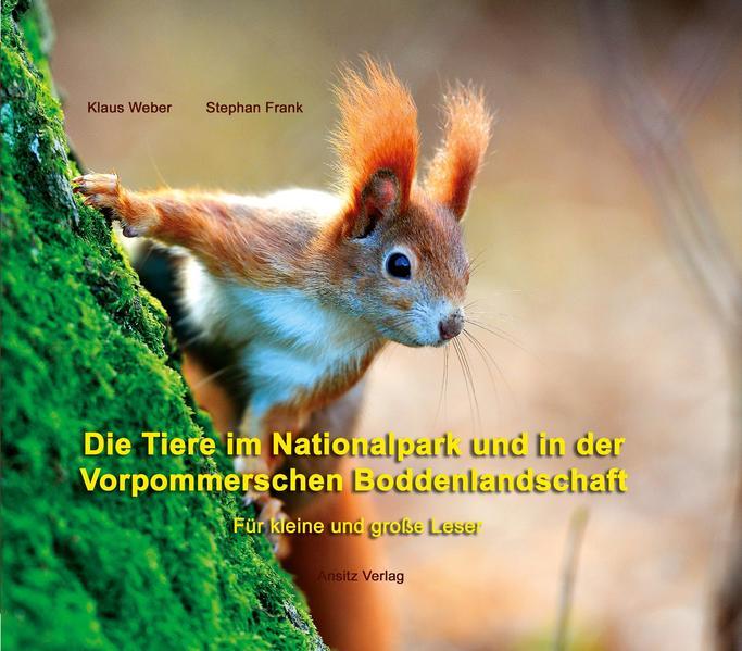 Die Tiere im Nationalpark und in der Vorpommerschen Boddenlandschaft - Coverbild