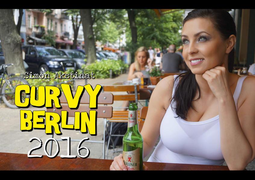 CURVY BERLIN Kalender 2016 - Coverbild