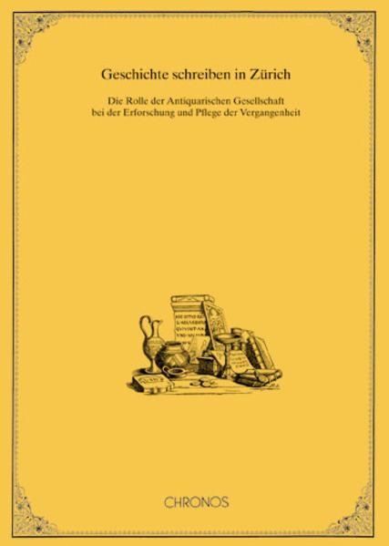 Geschichte schreiben in Zürich - Coverbild