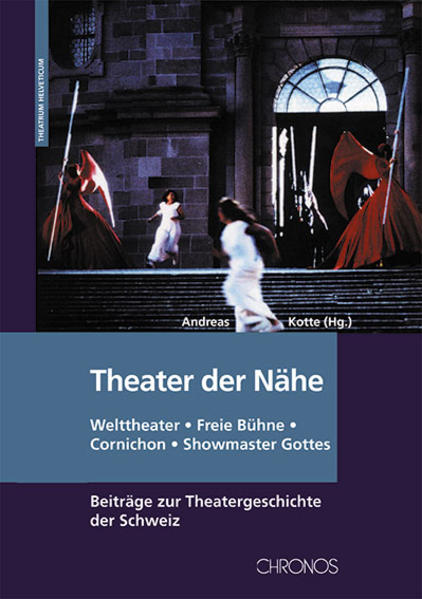 Theater der Nähe - Coverbild