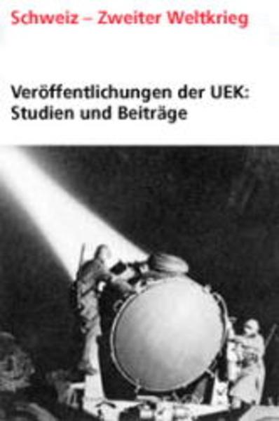 Veröffentlichungen der UEK. Studien und Beiträge zur Forschung / Transit ferroviaire à travers la Suisse (1939-1945) - Coverbild