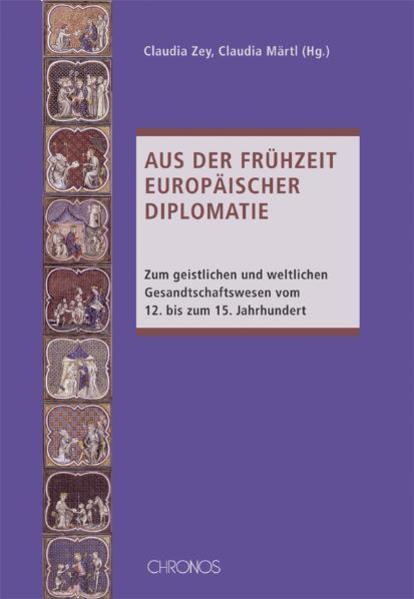 Aus der Frühzeit europäischer Diplomatie - Coverbild