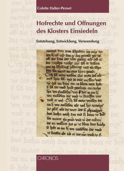 Hofrechte und Offnungen des Klosters Einsiedeln - Coverbild