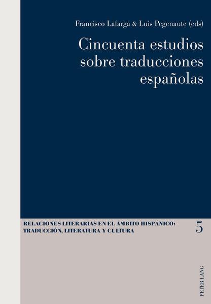 Cincuenta estudios sobre traducciones españolas - Coverbild