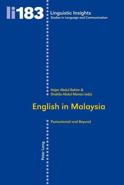 English in Malaysia - Coverbild
