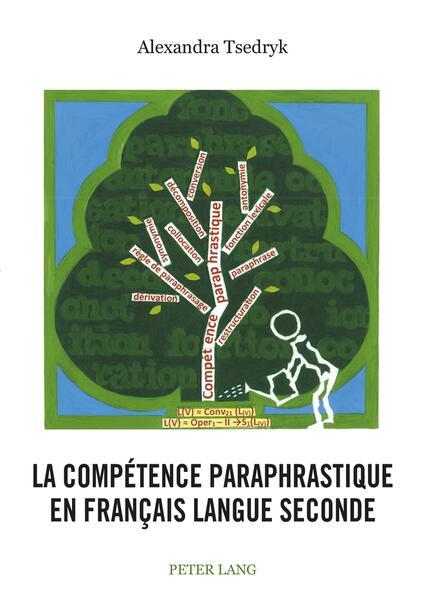 La compétence paraphrastique en français langue seconde - Coverbild