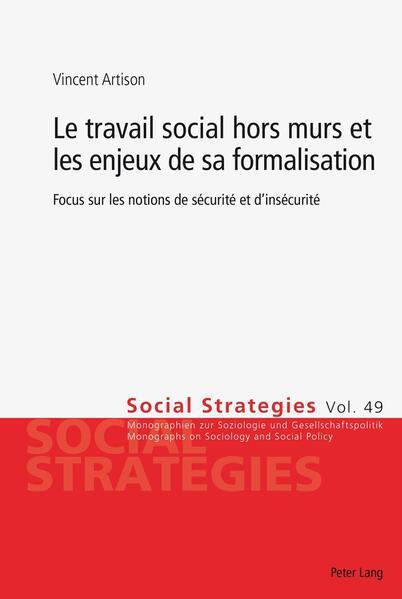 Le travail social hors murs et les enjeux de sa formalisation - Coverbild