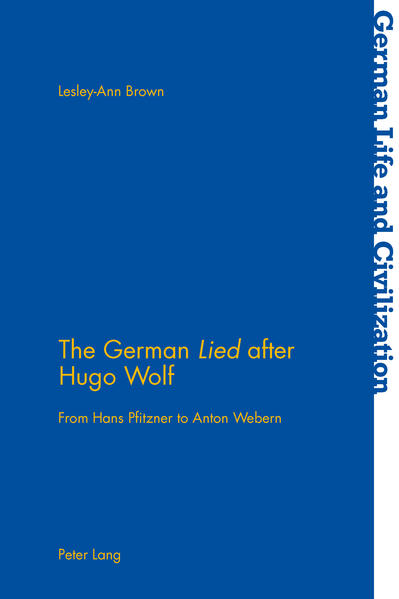 The German «Lied» after Hugo Wolf - Coverbild