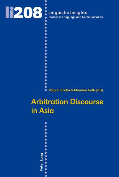 Arbitration Discourse in Asia - Coverbild