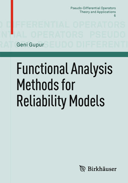 Functional Analysis Methods for Reliability Models - Coverbild