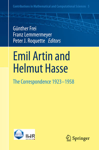 Emil Artin and Helmut Hasse - Coverbild