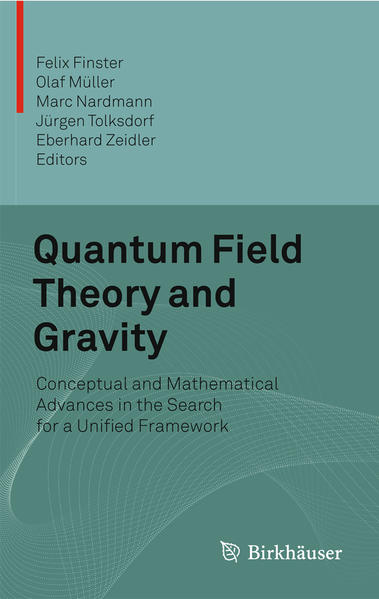 Quantum Field Theory and Gravity - Coverbild