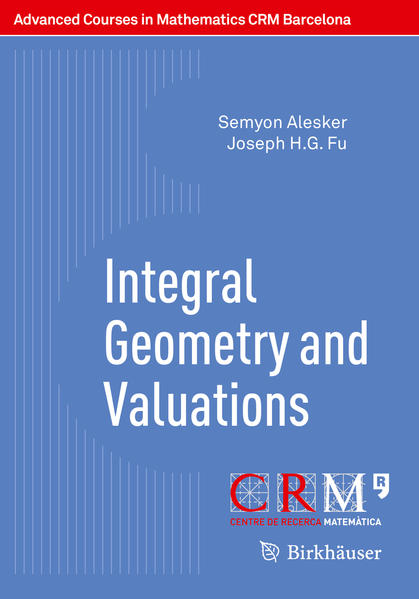 Integral Geometry and Valuations - Coverbild