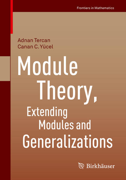 Module Theory, Extending Modules and Generalizations - Coverbild