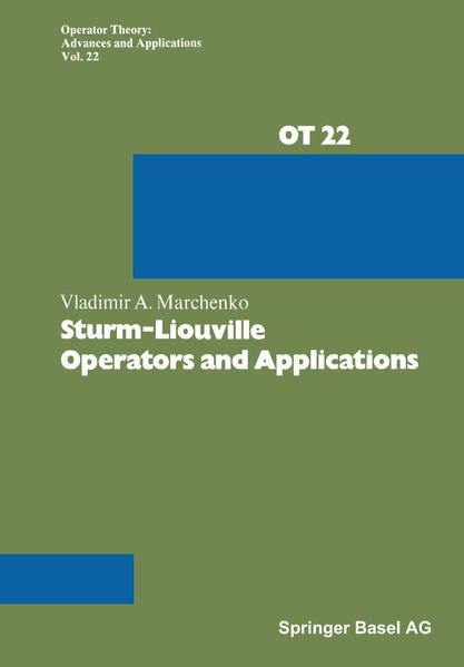 Sturm-Liouville Operators and Applications - Coverbild