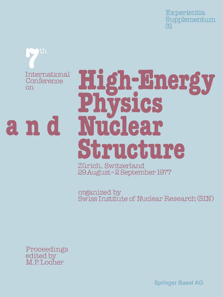 Seventh International Conference on High-Energy Physics and Nuclear Structure - Coverbild