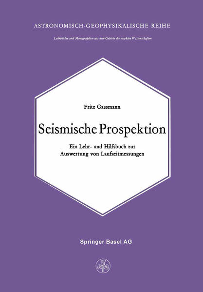 Seismische Prospektion - Coverbild