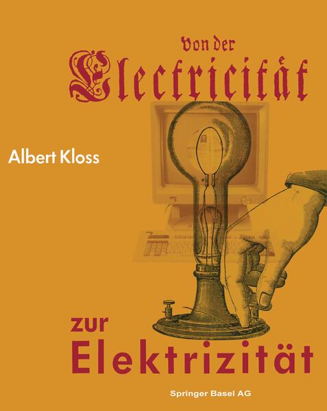 Von der Electricität zur Elektrizität - Coverbild