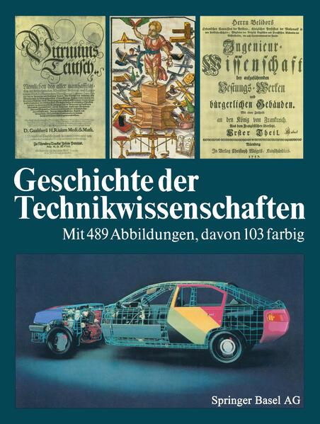 Geschichte der Technikwissenschaften - Coverbild
